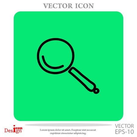 lupe: lupe vector icon
