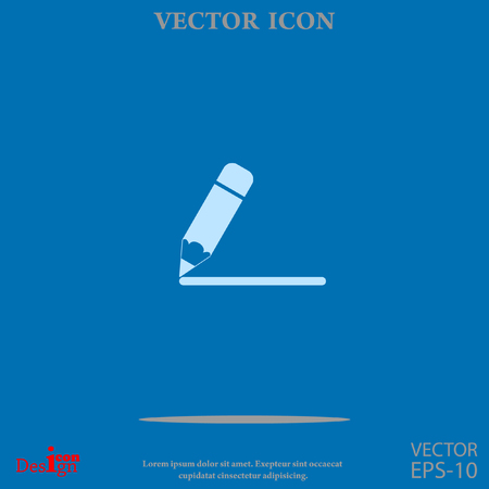 notes vector icon Illustration