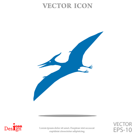 pterodactyl vector icon