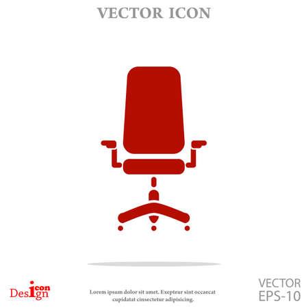 ergonomic: chair vector icon