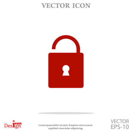 unlock vector icon Vektorové ilustrace