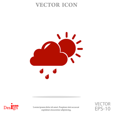 weather vector icon
