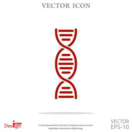 dna vector icon Illustration