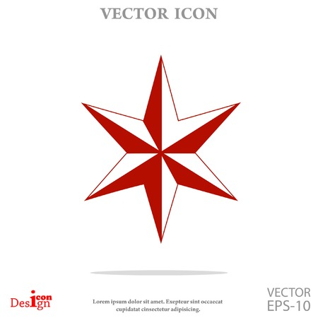judea: star of David vector icon