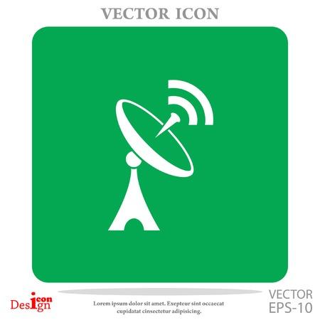 antenna vector icon Illustration