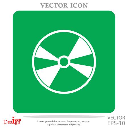 DVD disc vector icon