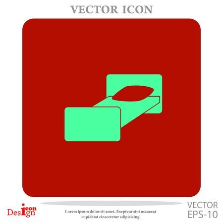 motel: motel vector icon Illustration