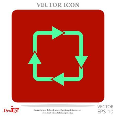 c�clico: cyclic vector icon