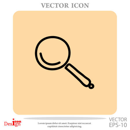 lupe vector icon