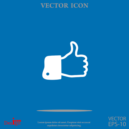like vector icon Illustration