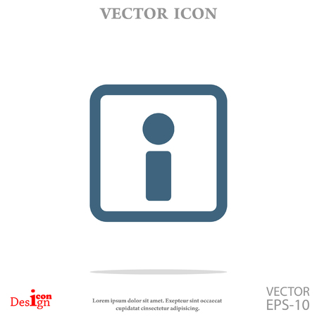 info: info vector icon Illustration