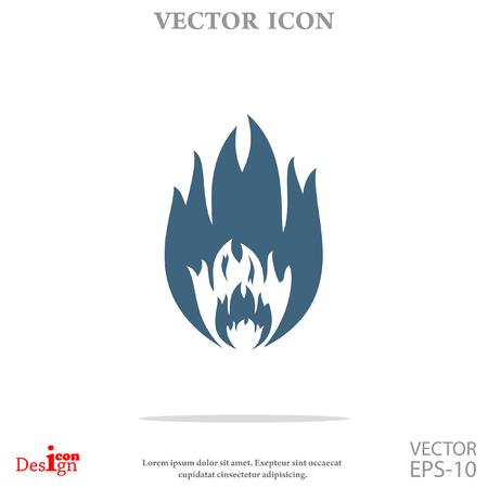fire vector icon