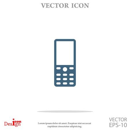 cellphone: cellphone vector icon