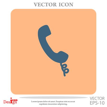 phone vector icon Illustration