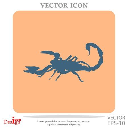 scorpion: scorpion vector icon