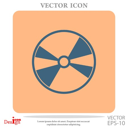 DVD disc vector icon