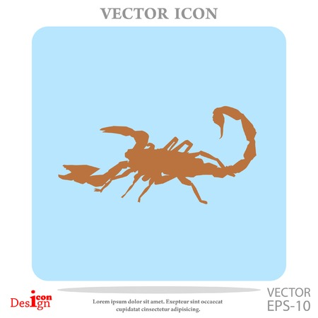 scorpion vector icon