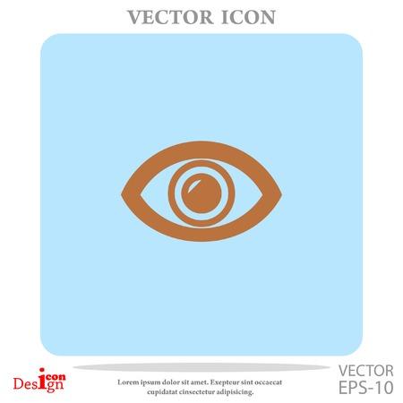 sight: eye vector icon