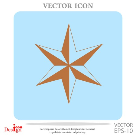 star of David vector icon