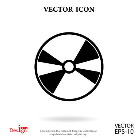 dvd: DVD disc vector icon