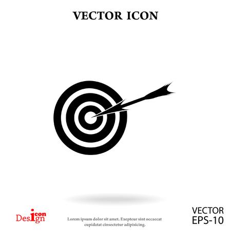 aim vector icon