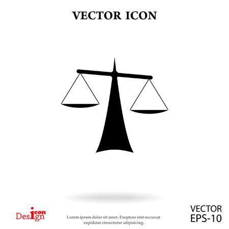 Justice vector icon