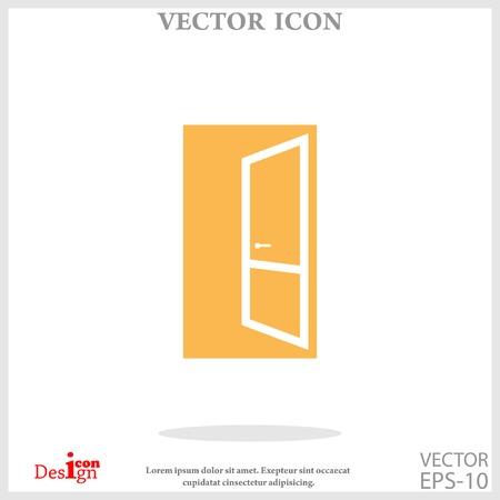 doorknob: open door icon