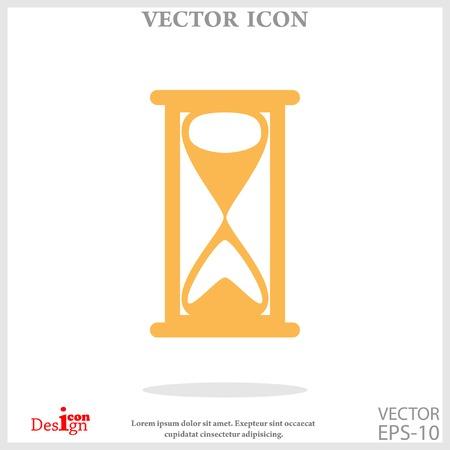 cronometro: icono de reloj de arena