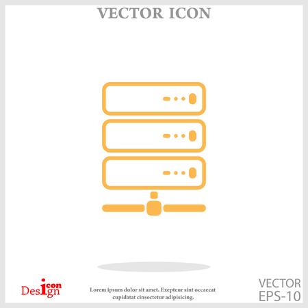 webhosting: computer server icon