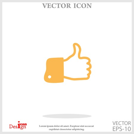 like icon Illustration