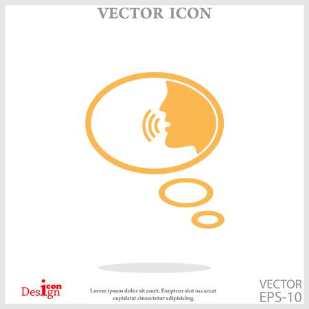 talking: talking icon