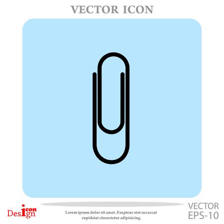 paperclip vector icon