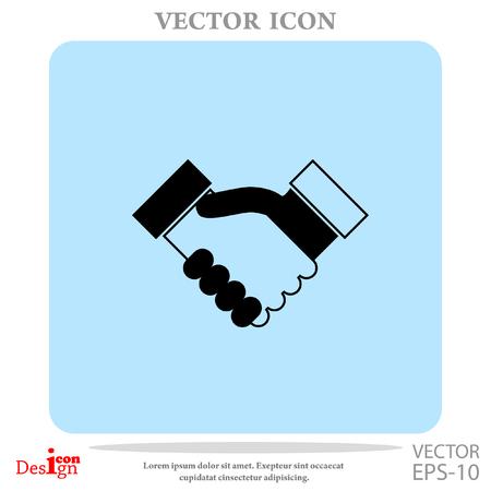heandshake vector icon