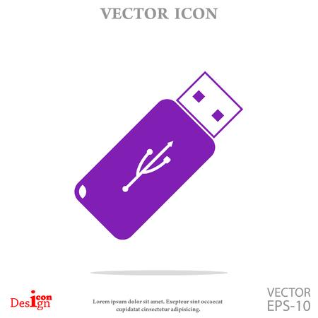 usb flashdisk vector icon