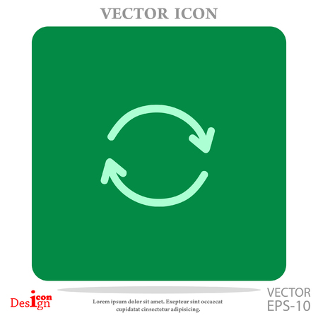 cíclico: cyclic vector icon