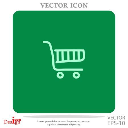 shopping chart: shopping chart vector icon