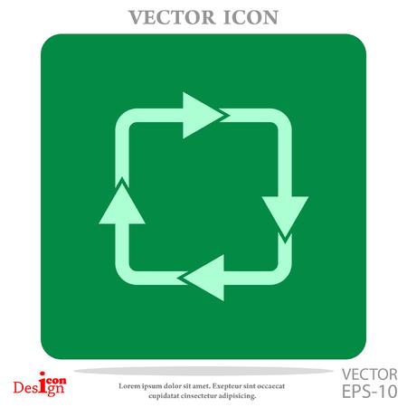 cyclic vector icon