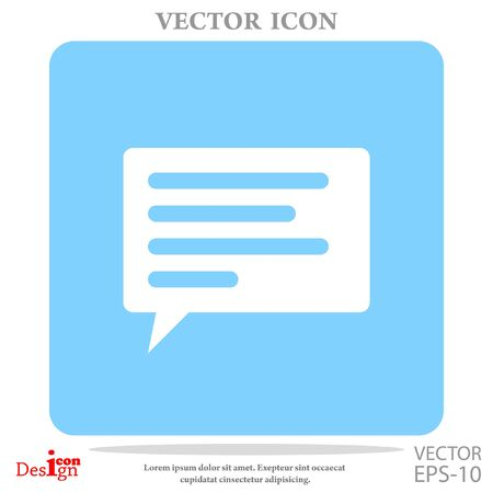 instant messaging: communication vector icon