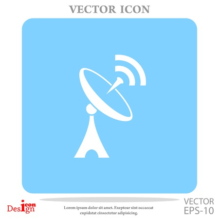 antenna vector icon Illustration