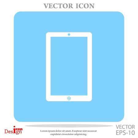 touchpad vector icon Illustration