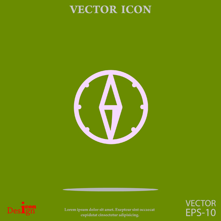 compass vector icon