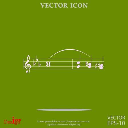 음악 벡터 아이콘