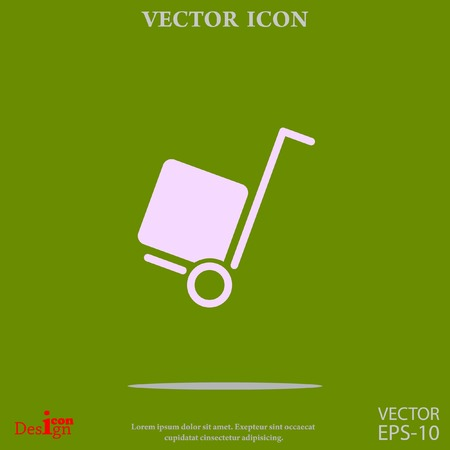 delivery vector icon