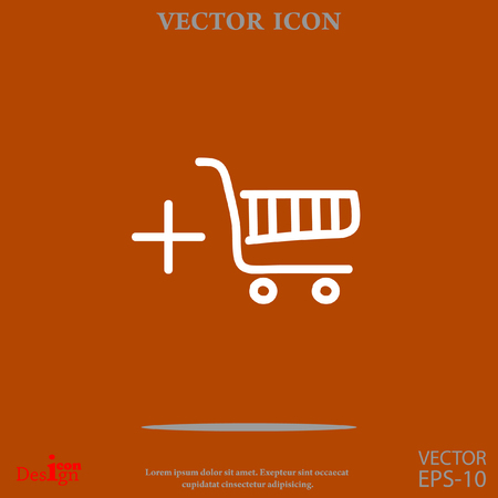 add to cart: shopping chart vector icon