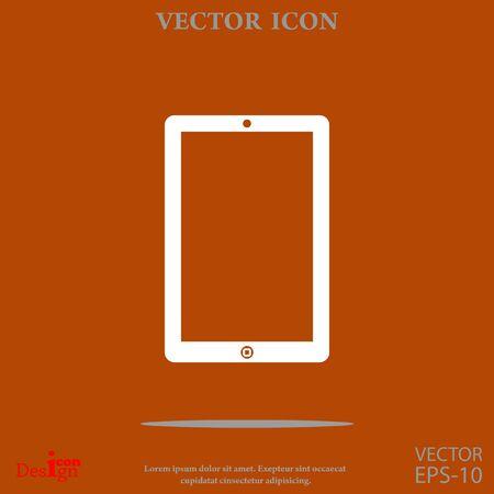 touchpad vector icon Illustration