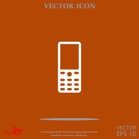 Cellphone vector icon