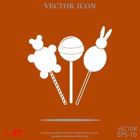 Lollipop vector pictogram