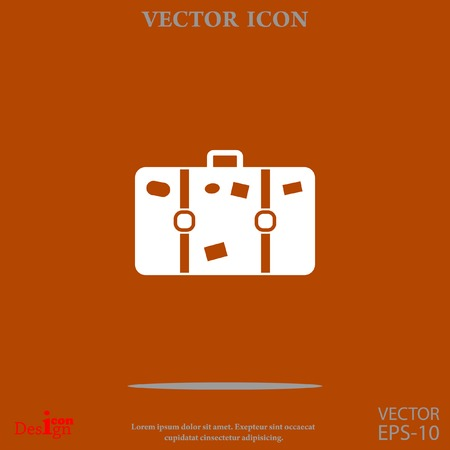 Bag vector icon Illustration