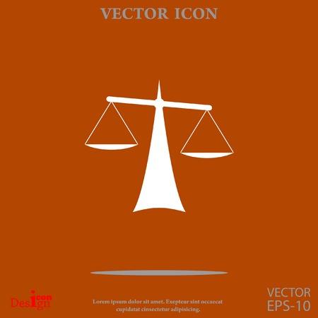 equilibrium: Justice vector icon