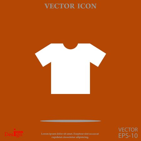 T-shirt vector icon